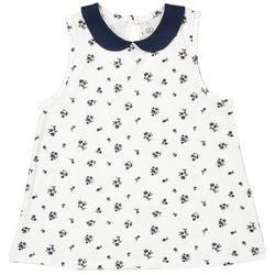 La redoute collections Koszulka bez rękawów z nadrukiem i małym okrągłym kołnierzykiem 3-12 lat