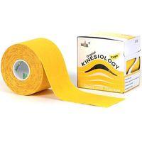 Kinesio Taśma do tapingu nasara logy tape 5cm x 5m - żółta