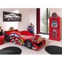 Łóżko AUTO samochód Race Car Mini, 140x70 cm, łóżko dla dziecka, dla chłopca