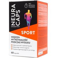 NeuraCaps Sport 60 kapsułek Bio Medical Pharma (5905669622035)