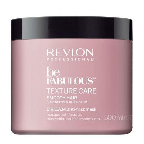 Revlon be fabulous smooth hair c.r.e.a.m. anti-frizz mask | wygładzająca maska do włosów 500ml