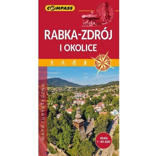 Mapa turystyczna - Rabka-Zdrój i okolice 1:40 000 - Praca zbiorowa, Compass