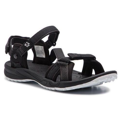 Sandały - lakewood ride sandal w 4019041 black marki Jack wolfskin