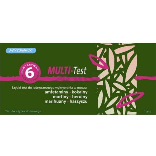 Multi 5 Panel (AMP/COC/MOR/THC/BZO) test narkotykowy