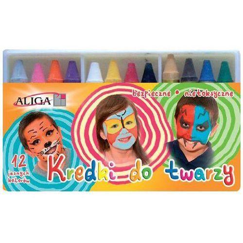 Party world Kredki do malowania twarzy 12 kolorów