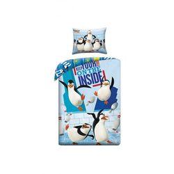 Komplety pościeli dla dzieci  Pingwiny z Madagaskaru 5.10.15.