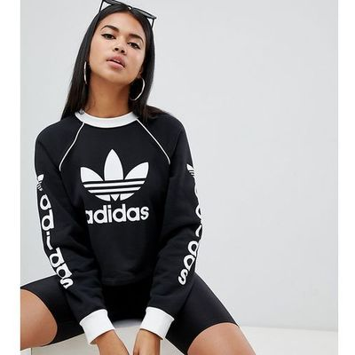 bdfaa36af Bluzy damskie adidas Originals, Kolor: czarny kolekcja lato 2019 ...