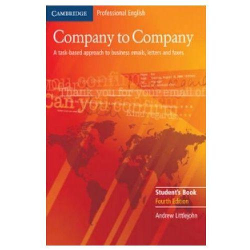 Company To Company. 4th Edition Książka Ucznia, Andrew Littlejohn
