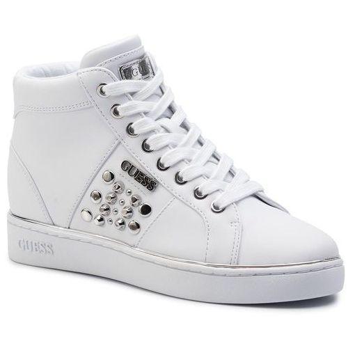 Sneakersy - bekann fl7bek ele12 white, Guess, 35-41
