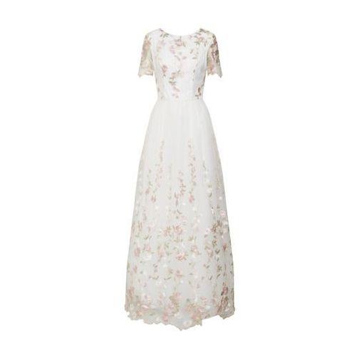 Chi Chi London Suknia wieczorowa mieszane kolory / biały