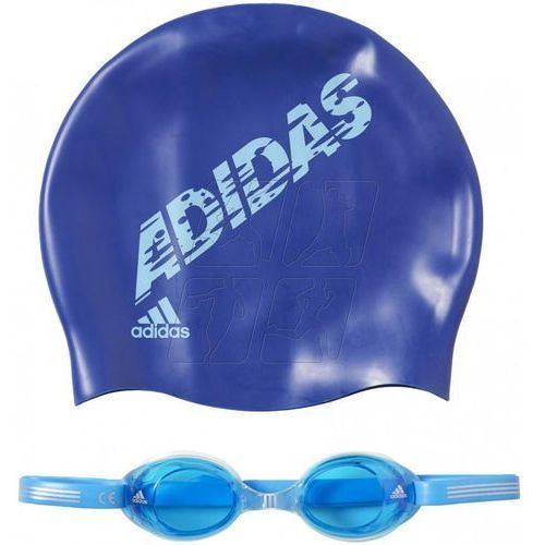 Zestaw pływacki adidas swim kids package Junior AB6071, AB6071