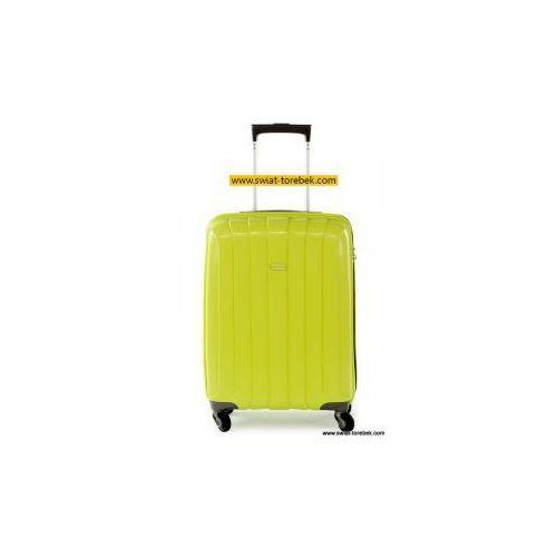 PUCCINI walizka mała/ kabinowa z kolekcji PP006 twarda 4 koła materiał Polipropylen zamek szyfrowy z systemem TSA