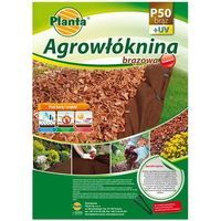 Agrowłóknina 3.2x10m 50g brązowa - ściółkująca (p50br32x10) marki Planta