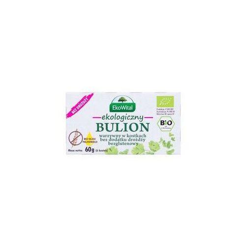 BIO BULION WARZYWNY (kostka rosołowa) 66g bez oleju palmoweo i drożdży EKOWITAL 1 szt - Godna uwagi cena