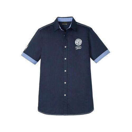 Koszula flanelowa w kratę regular fit jasnobrązowy w kratę marki Bonprix