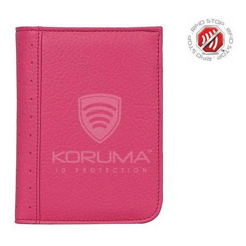 ✅ portfel chroniący karty zbliżeniowe paszport biometryczny (brązowy) - brąz mat marki Koruma
