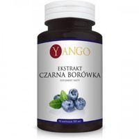 Czarna Borówka 90 kapsułek ekstrakt YANGO (5905279845503)
