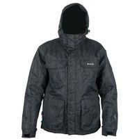 HI-TEC kurtka zimowa Matias Printed Black M (TECPROOF 5000) (odzież do sportów zimowych) od Mall.pl