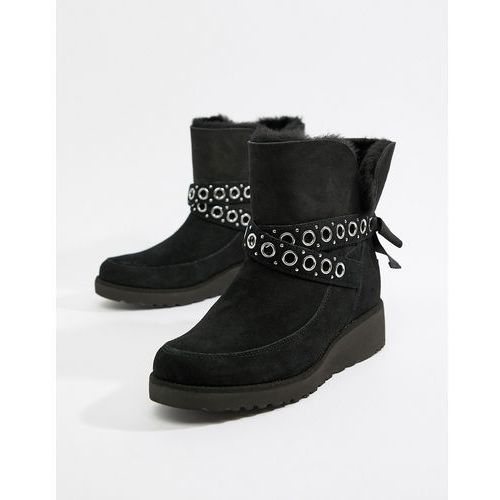 Ugg black ankle boots - black