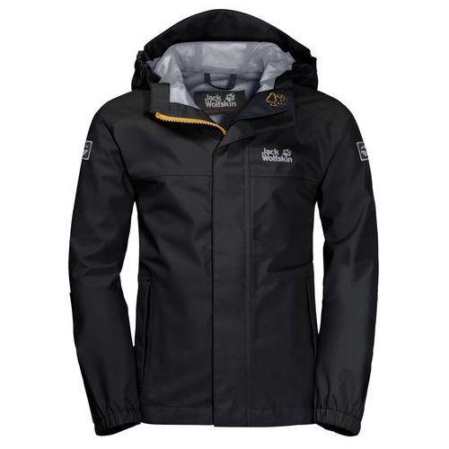 Jack wolfskin Kurtka oak creek jacket black - 92 (4060477141657)