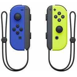 Nintendo kontrolery joy-con pair blue/neon yellow (nsp065)