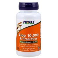 Kapsułki Aloe Vera 10 000 & Probiotyki 60 kaps.