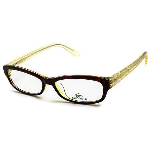 Okulary korekcyjne l2673 214 Lacoste