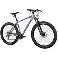 Rower górski MTB INDIANA X-Enduro 4.7 M21 Szaro-niebieski | 5 LAT GWARANCJI NA RAMĘ DARMOWY TRANSPORT