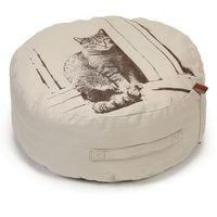 Designed by lotte puf dla kota minoes, beżowy, 50 x 20 cm, 706612