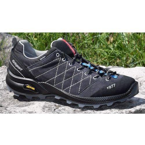 Grisport Męskie buty trekkingowe deep vesuvio 13133v3g czarny/szary 44