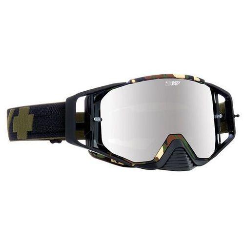 Spy Gogle narciarskie ace mx fatigue - happy bronze w/ silver mirror (+clear anti fog w