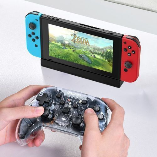 sw motion sensing | gamepad kontroler bezprzewodowy bluetooth do nintendo switch marki Baseus