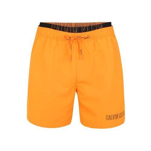 1ddcc43b689280 Calvin Klein Swimwear Szorty kąpielowe 'MEDIUM DOUBLE WAISTBAND' złoty  żółty, szorty