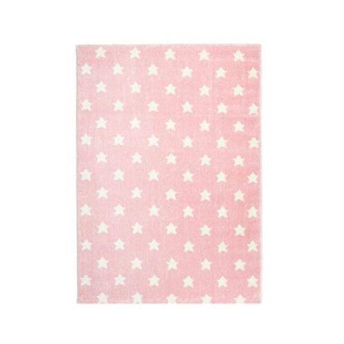 Dywan Dziecięcy Happy Rugs Little Stars 80 X 150 Cm Kolor Różowybiały Livone