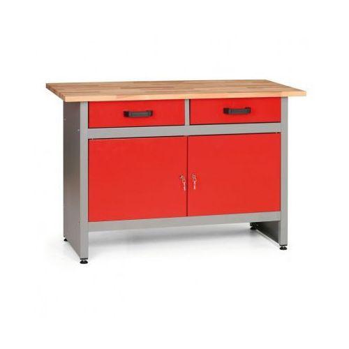 Stół roboczy z szufladami i szafkami marki Mars