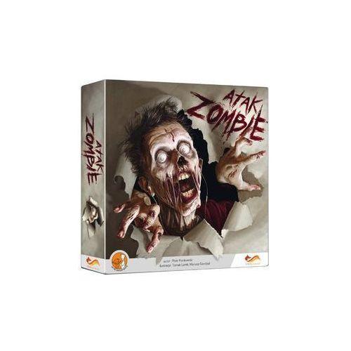 . atak zombie - gra planszowa marki Foxgames