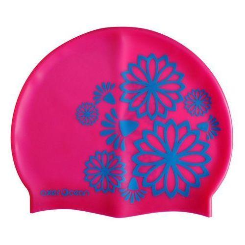 Axer ocean Czepek silikonowy pływacki młodzieżowy - odcienie różu