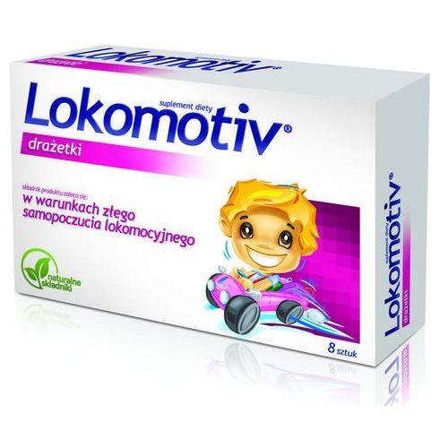Tabletki Lokomotiv x 8 draż