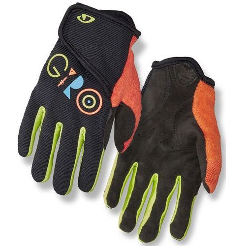 dnd ii rękawiczki dzieci, black multi m 2019 rękawice dziecięce marki Giro