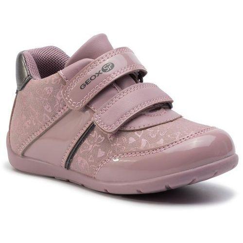 Sneakersy - b elthan g. b b941qb 0afhi ca89f old rose/dk grey marki Geox