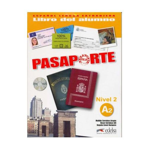 Pasaporte 2 alumno CD audio (9788477113966)