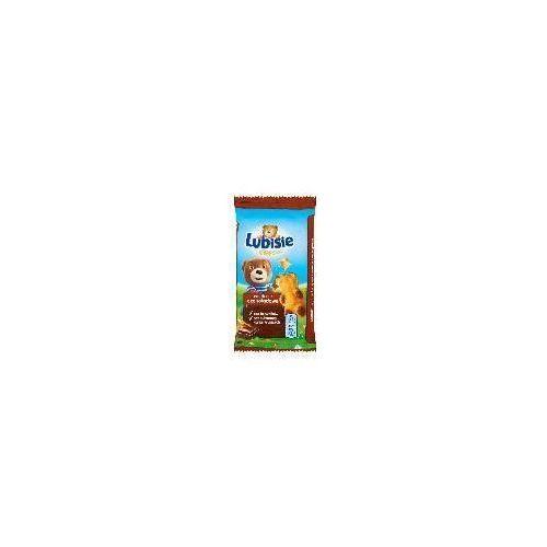 Ciastko biszkoptowe z nadzieniem Petitki Lubisie Miś czekoladowy 30 g (5906747309688)