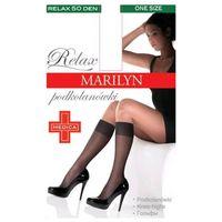 Podkolanówki profilaktyczne uciskowe piano relax den 50 marki Marilyn