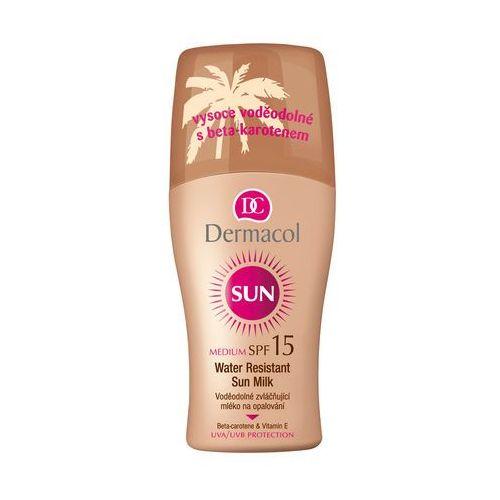Sun milk spray spf15 preparat do opalania ciała 200 ml dla kobiet Dermacol - Promocja