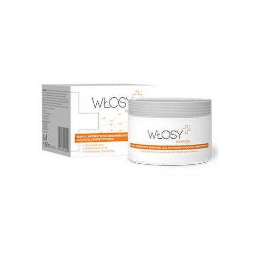 Synoptis pharma Włosy+ solutions maska intensywnie regenerująca do włosów suchych i zniszczonych 250ml