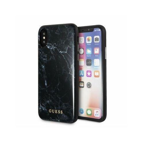 guhcpxhymabk iphone x (czarny) marki Guess
