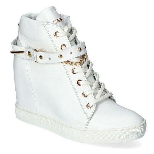 Sneakersy b5277-l46 białe lico, Carinii