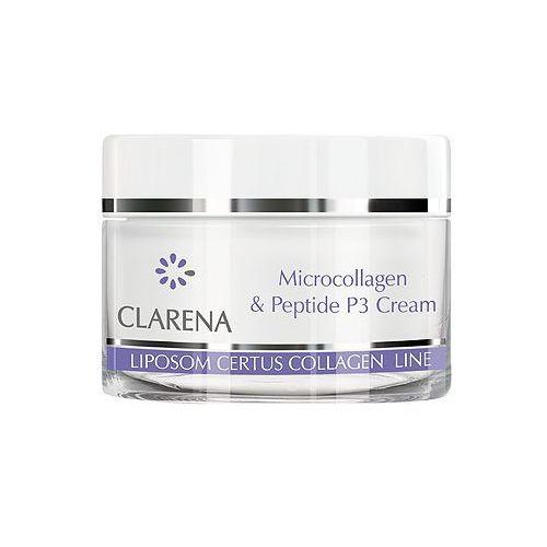 Clarena microcollagen & peptide p3 cream krem mikrokolagenowo-peptydowy 50 ml