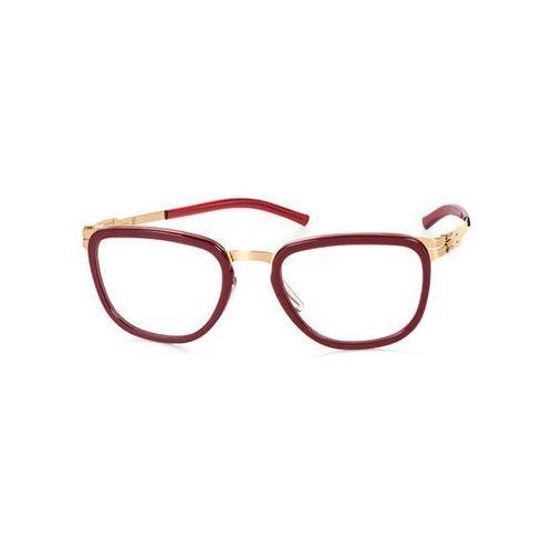 Ic! berlin Okulary korekcyjne d0015 kathi b. rose-gold-very-berry-washed