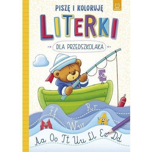 Literki dla przedszkolaka Piszę i koloruję (9788381066259)